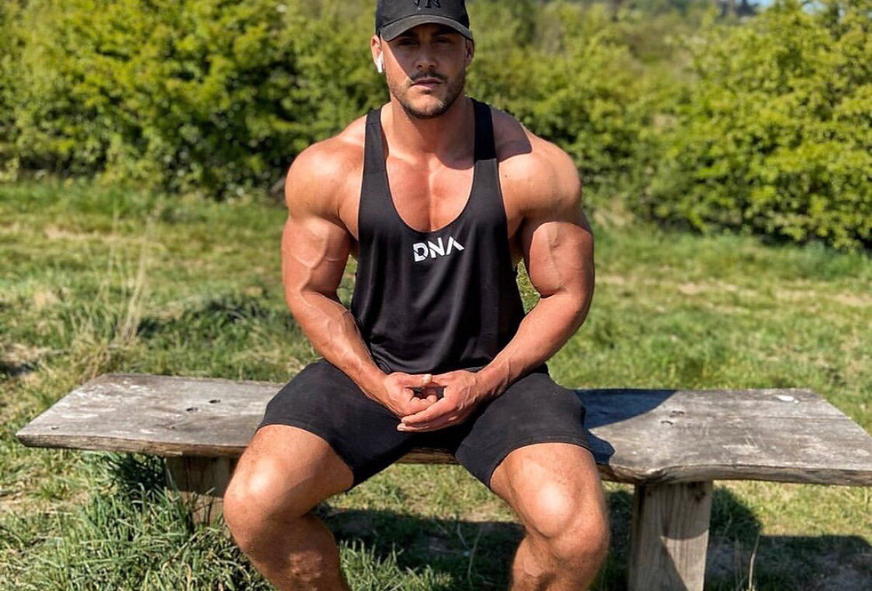 Core Stringer Vest Black