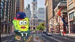 Spongebob x Philly meme