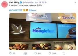 Hoagiefest Promotion