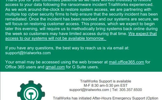Hacked: Law Firm Cloud Computing Software