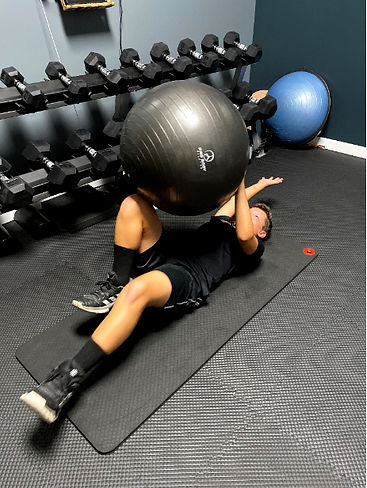 Youth Golf Fitness Personal Training Ses