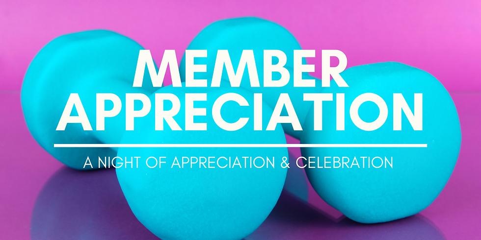 Member Appreciation Night