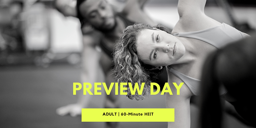 Preview Class - 8 AM Adult HIIT
