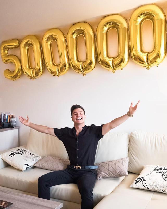 500.000 ISCRITTI!