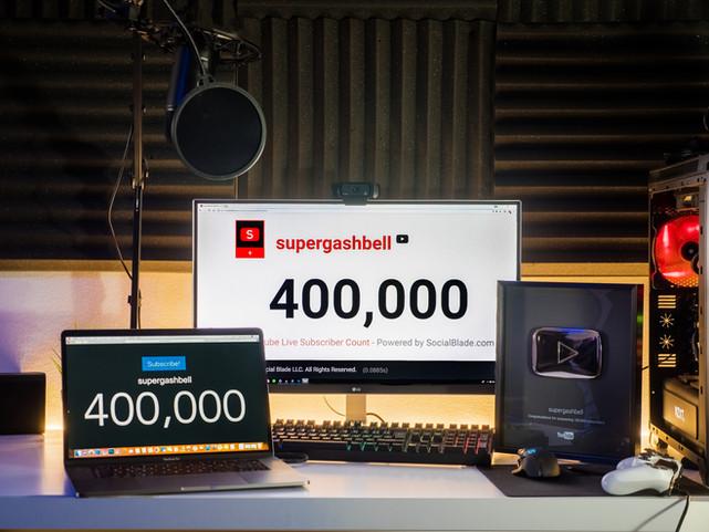 400.000 ISCRITTI!