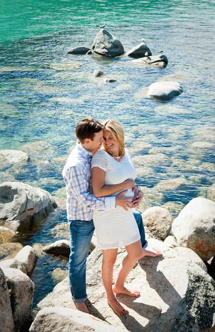 lake tahoe maternity portrait child infa