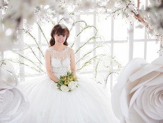 Ivory vs. White Wedding Dress Skin Tone Matching