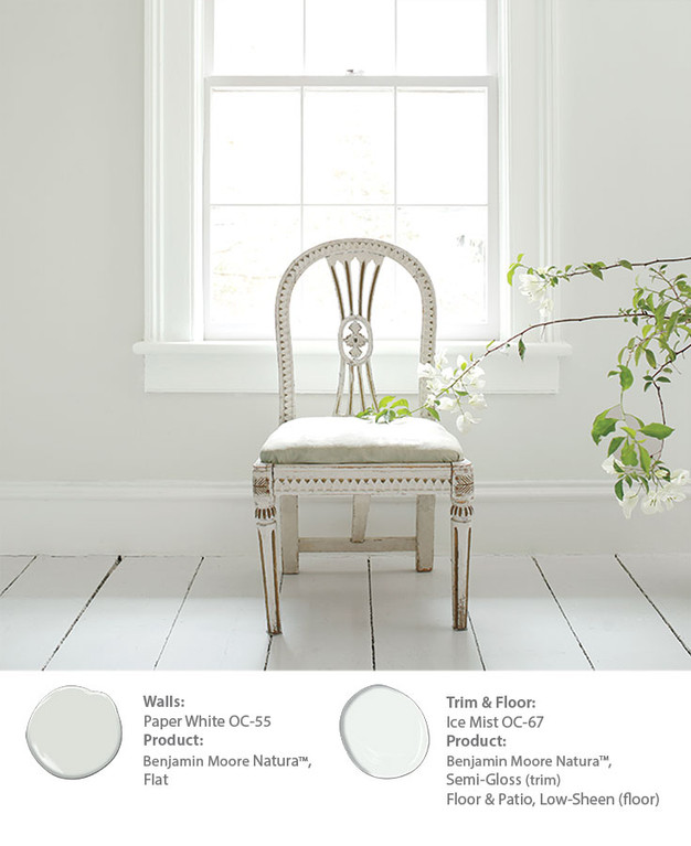 Tips On Creating A Monochromatic White Look In The Bedroom Benjamin Moore  SF Dogpatch, Potrero