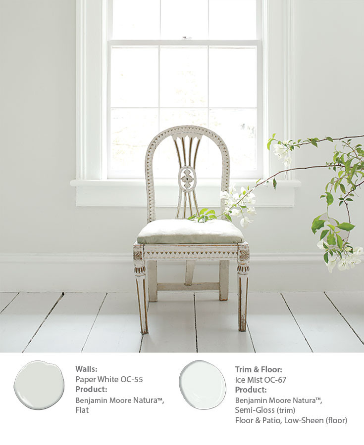 Tips On Creating A Monochromatic White Look In The Bedroom Benjamin Moore SF Dogpatch, Potrero Hill, Mission Bay Paint Store