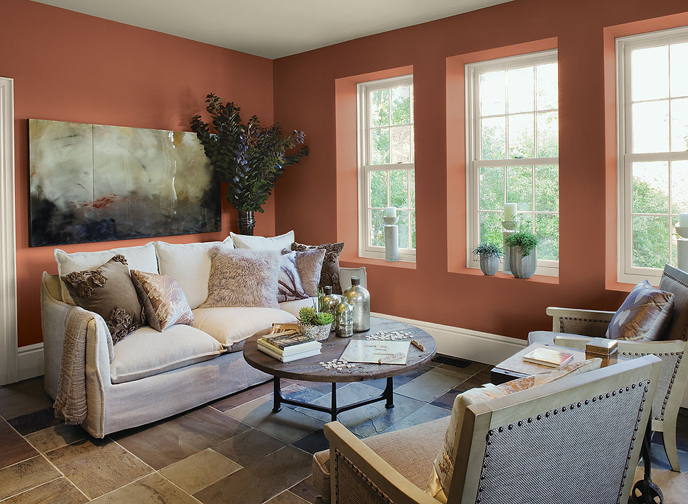Benjamin Moore Fall Colors for the home
