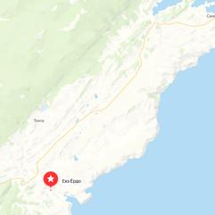 Гора Ехе Ёрдо (Ёрд) на карте