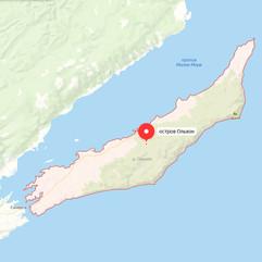 Остров Ольхон на карте