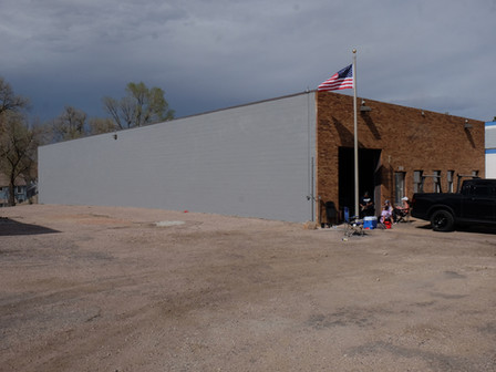 Exterior Wall Painted