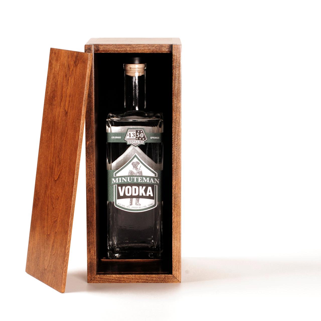 Minuteman Vodka Stars Collection