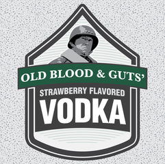 Old Blood & Guts' Strawberry Vodka