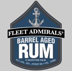 Fleet Admirals' Barrel Aged Rum