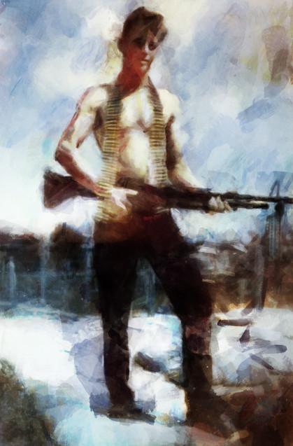 Cluck Clark Army Vietnam