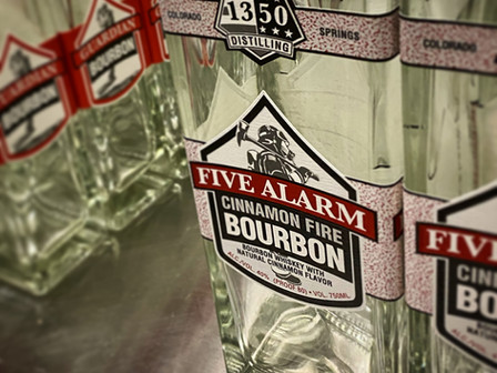 Paying Tribute to our Firefighters and First Responders with Five Alarm Cinnamon Bourbon Release