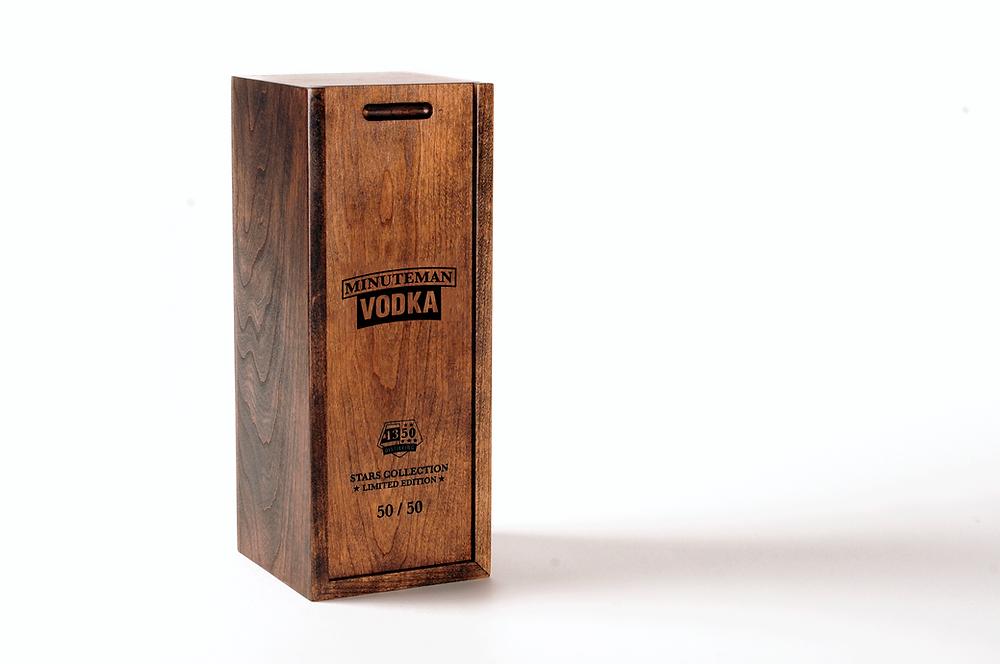 Minuteman Vodka Stars Collection Box