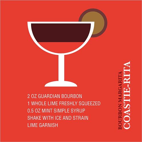 Coastie-Rita (Bourbon Margarita) Homeschool Cocktail Kit