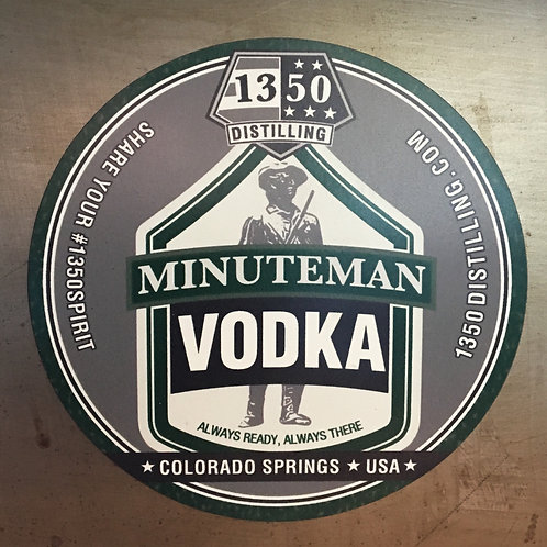 Minutemen Vodka Magnet