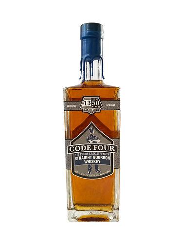 Code Four Cask Strength Bourbon