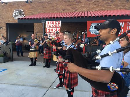 1350 Distilling Donates to Fallen Firefighter Memorial Fund