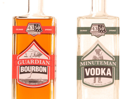 Vodka and Bourbon Now Available