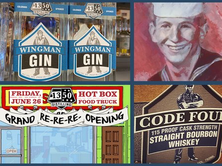 Gin, Father's Day, Re-Opening, & 115 Proof Bourbon