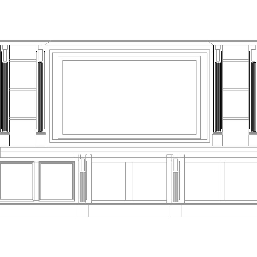 01full bar front plans