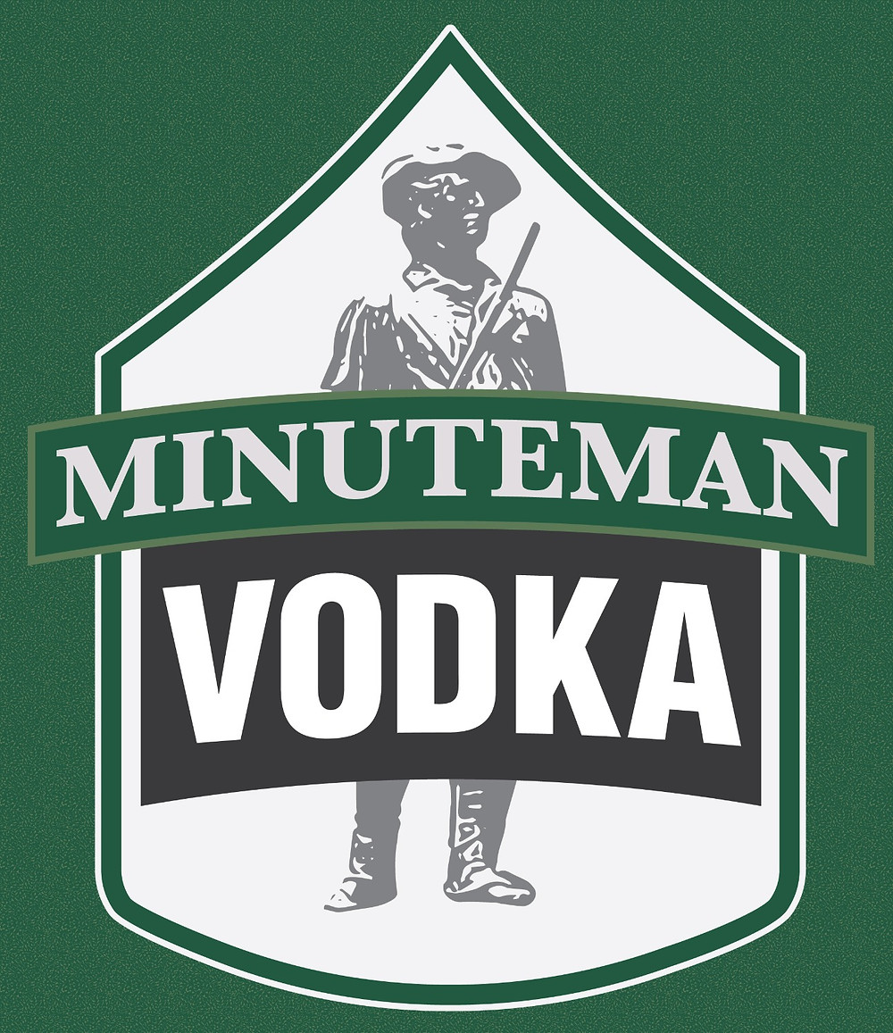 Minuteman Vodka - 1350 Distilling's First Brand Name Product