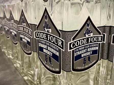 Pre-Order Code Four Bourbon Now