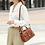 Thumbnail: Classic UK vintage style Women shoulder leather bag