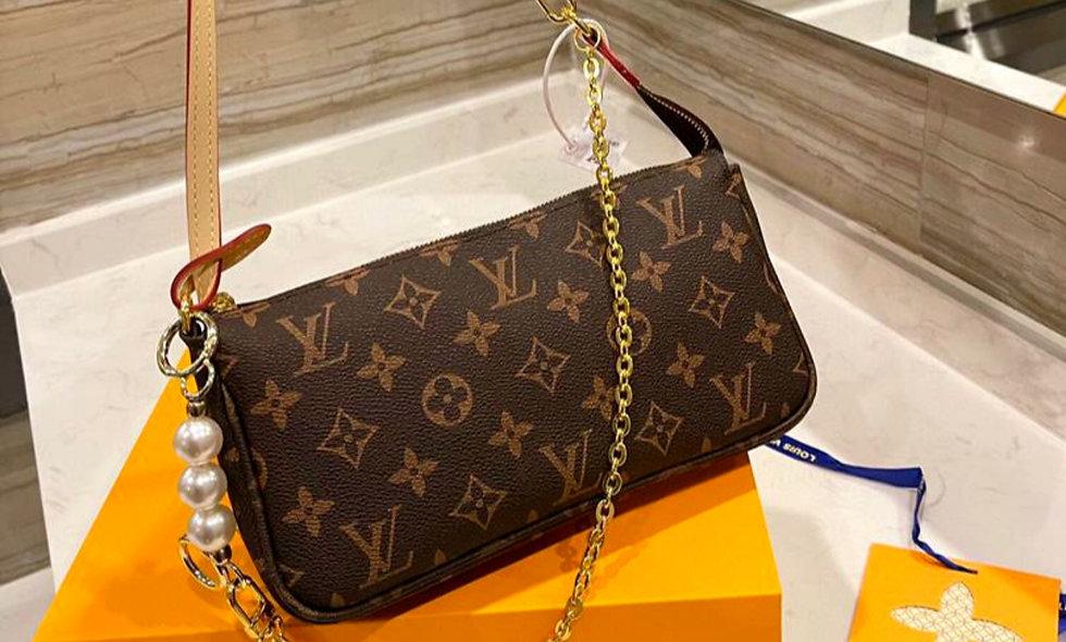 Genuine Leather Messenger handbag