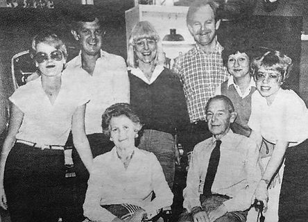 Här är alla frisörer i vadstena som arbetade på salongen under 1930- talet