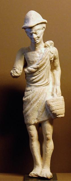 1st Century BC - Louvre - Pileus Statue.
