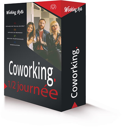 COWORKING | 1/2 day