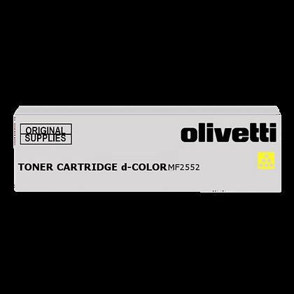 Toner Olivetti copieur MF2552  Yellow | TONER PARTENAIRE
