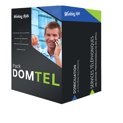 DOMICILIATION on PERTUIS with daily forwarding + TELEPHONY | Domtel