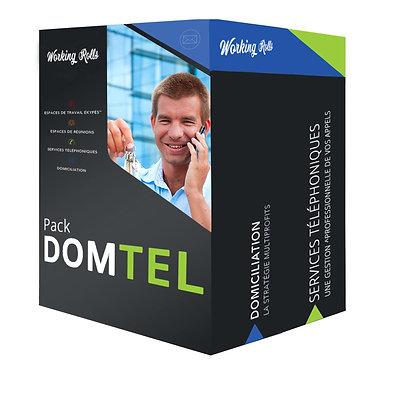 DOMICILIACIÓN en PERTUIS con reenvío diario + TELEFONÍA | Domtel