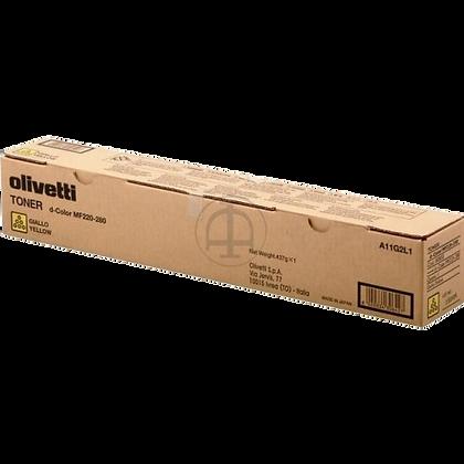 Toner Olivetti copieur MF220 280 Jaune | COMPREDIA