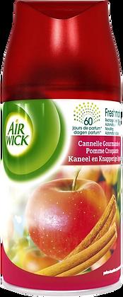 Lot de 3 recharges AIR WICK cannelle gourmande et pomme croquante 250ml | AMAZON