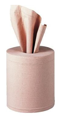 Pack de 6 bobines essuie mains 2 plis chevreuil 450 feuilles | MÉTRO