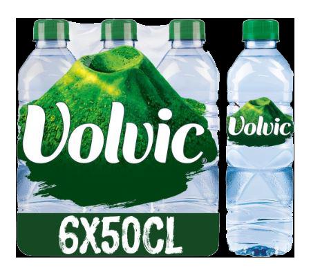 PACK de 6 bouteilles de 50cl VOLVIC | CARREFOUR