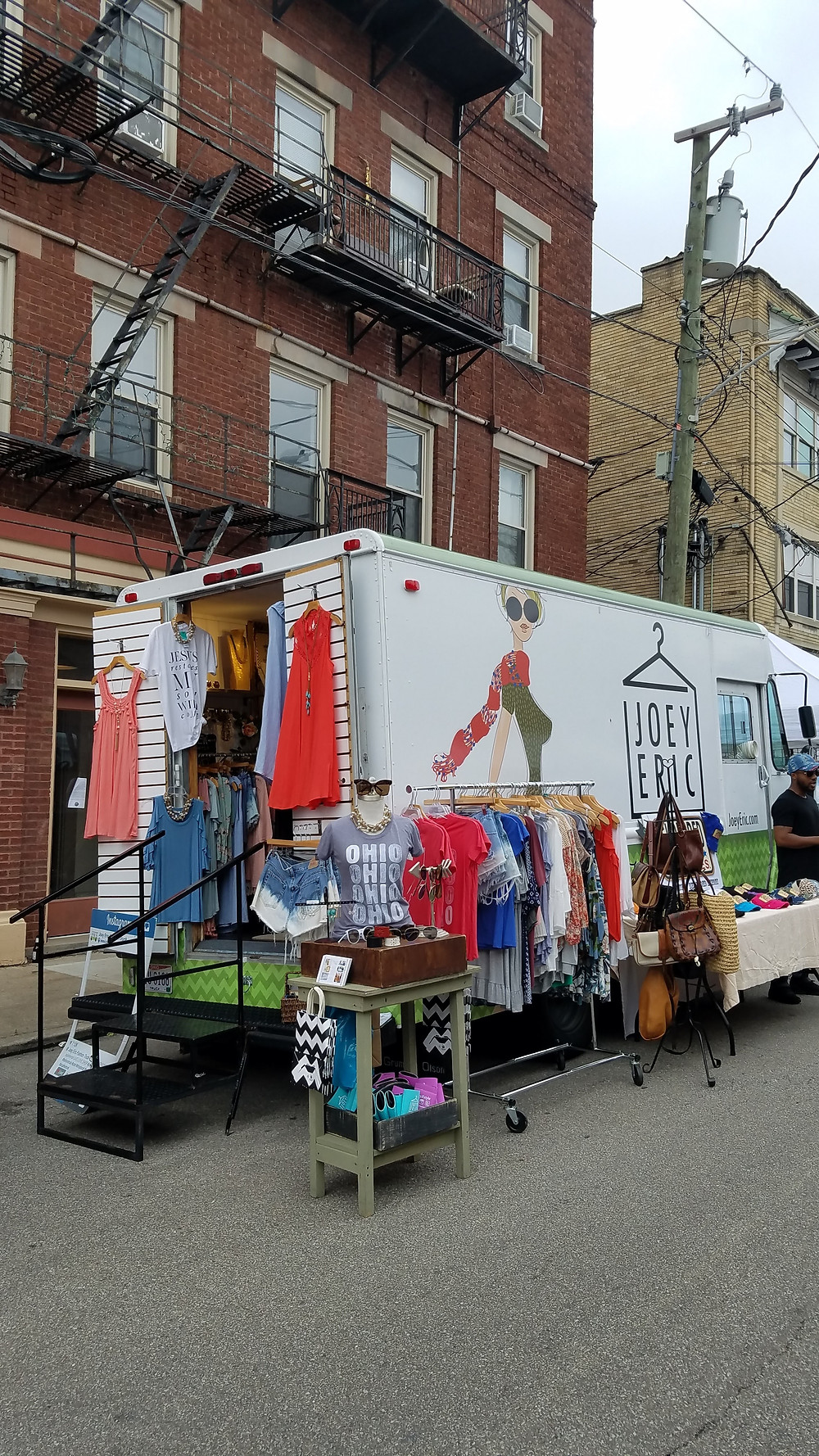 The OFF Market Joey Eric Fashion Truck