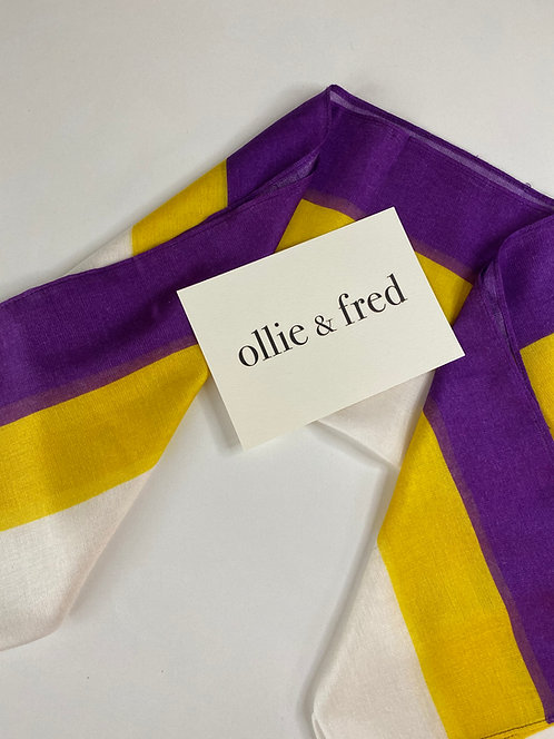 American suffragette scarf, American suffragette sash scarf,American suffragette colors,American scarf,American suffrage,