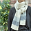 neutral winter scarf, neutral lambswool scarf,sustainable gift ideas, slow fashion gift ideas,grey striped scarf