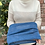 ollie and fred blue snood, ollie and fred blue neck warmer, ollie and fred blue neck gaiter,