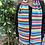 ollie and fred, rainbow scarves, wool anniversary gifts, bright and colourful scarf,