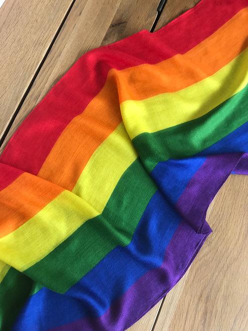 gay pride scarf,gay pride gifts,rainbow scarf, gay gift ideas,lgbt scarf,luxury pride gifts,gay pride